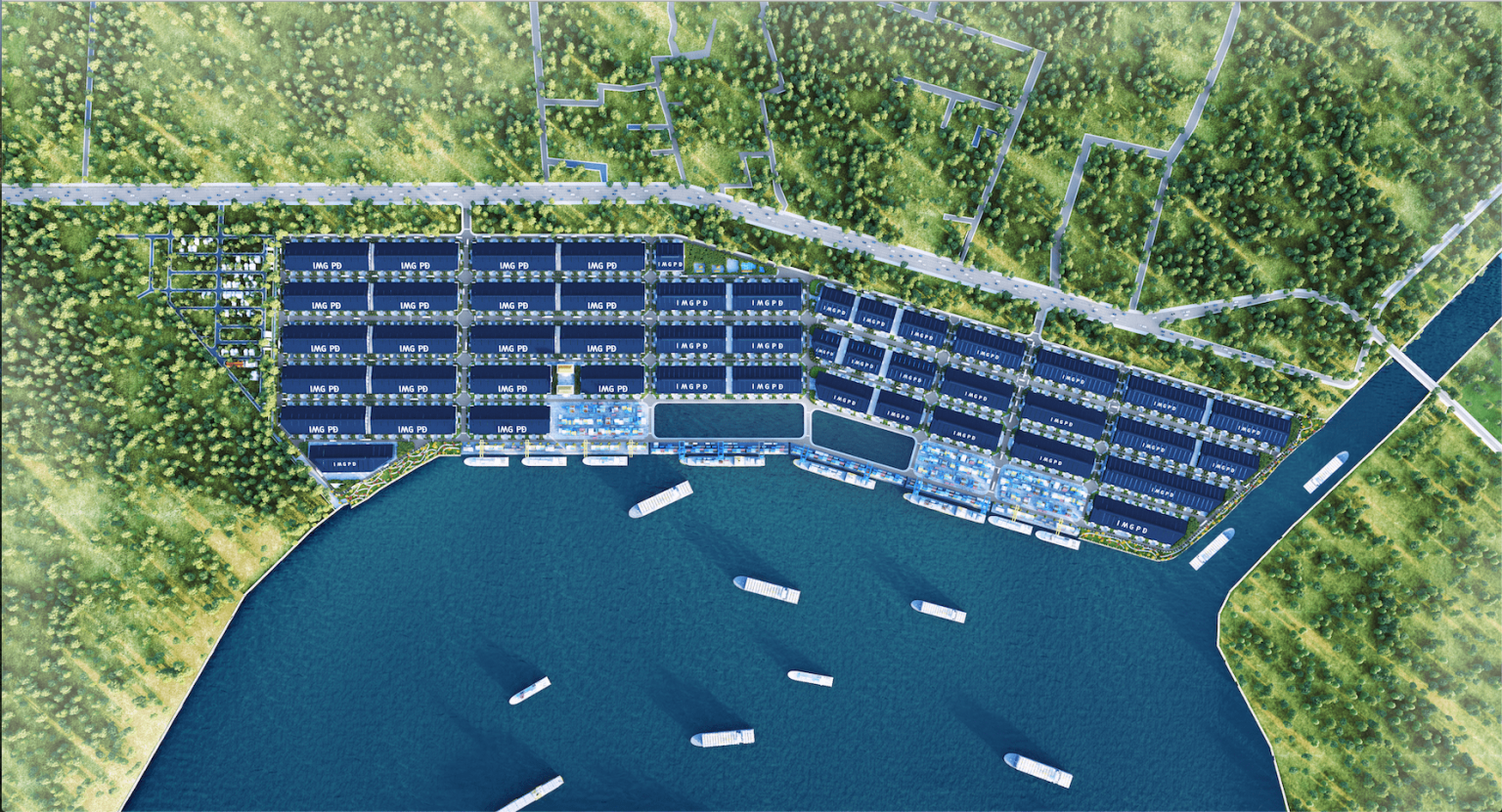 Phước Đông Garden sở hữu vị trí quan trọng và đắc địa ngay tuyến Tránh Quốc lộ 50, Ấp 1, Xã Phước Đông, Thị trấn Cần Đước, khu vực Long An. Khu đô thị Phước Đông Garden được đánh giá là một trong những dự án nhà phố các khu đô thị trọng điểm phía Nam Sài Gòn trong năm 2021. Dự án nhà phố khu vực dân cư Phước Đông được thiết kế thành khu dân cư sang trọng, xứng đáng là nơi dừng chân & an cư tận hưởng được không khí sống trong lành mà đáp ứng được những tiện ích đẳng cấp đẵng cấp phục vụ cuộc sống giới hiện đại. Khu đô thị Phước Đông Garden được xem là miền đất lõi Long mạch, nơi vừa có chợ (thương mại), vừa có nước (phong thủy) nên mang lại may mắn, an lạc cho người ở, thịnh vượng cho người buôn bán. Sỡ hữu Pháp Lý đảm bảo an ninh, và được quy hoạch quy mô về hạ tầng, cùng với sở hữu vị trí đắc địa vô cùng đắc địa và dự án đất nền ra đời trong bối cảnh thị trường đất nền đang khan hiếm các sản phẩm từ chủ đầu tư sản phẩm có diện tích vừa phải và giá hợp lý như khu vực dân cư Phước Đông. Vị trí đắc địa tại khu đô thị Phước Đông Garden Cầu khu vực cảng khu đô thị Phước Đông Garden Mặt tiền cung đường Quốc Lộ 50 liên kết đại lộ Nguyễn Văn Linh, cách trung tâm Sài Gòn chỉ 30 phút. Vị trí khu đô thị Phước Đông Garden – Nằm trên mặt tiền cung đường QL 50 đang quy hoạch 60m duy trì kết nối Nguyễn Văn Linh TP. HCM, KCN Tân Kim, trung tâm thị trấn Cần Đước và các tỉnh Tây Nam Bộ. – Nằm trên trục cung đường buôn bán tứ giác 4 KCN: KCN Tân Kim, KCN Cầu khu vực cảng Phước Đông, KCN Cầu Tràm, KCN Thuận Đạo. – Liền kề đường Vành đai 4 đang đồng bộ trong năm 2019. – Nằm kế bên huyện Bình Chánh, về trung tâm TP chỉ mất 15p với cung đường QL50 và TL826, tuyến metro số 5A đang được khởi công vào tháng 9/2021 – Dự án toạ lạc tiếp giáp kinh doanh dân cư sầm uất lõi thị trấn Cần Đước. Ngoài ra, khu đô thị còn nằm giữa các đô thị đang phát triển sầm uất gồm: Thành phố Tân An, TT. Bến Lức, đô thị khu công nghiệp hiện đại Vàm Cỏ, và nhiều dự án công nghiệp – công nghệ cao như khu công nghiệ