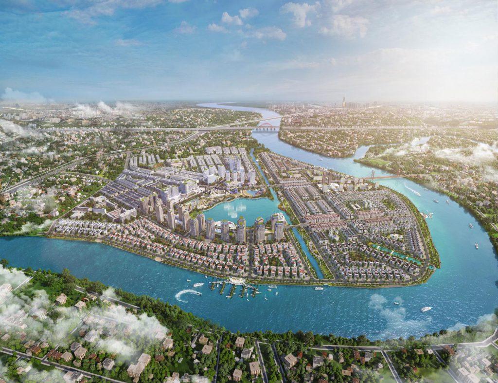 Van Phuc City sở hữu vị trí đắc địa, hiếm có