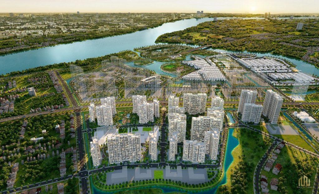 Phối cảnh dự án căn hộ Lumière Riverside Thủ Đức