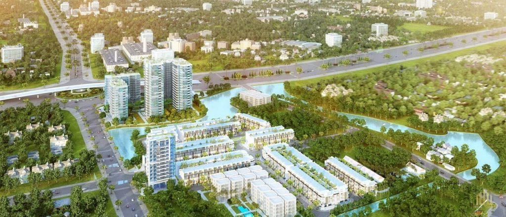 Phối cảnh dự án căn hộ MT Eastmark City