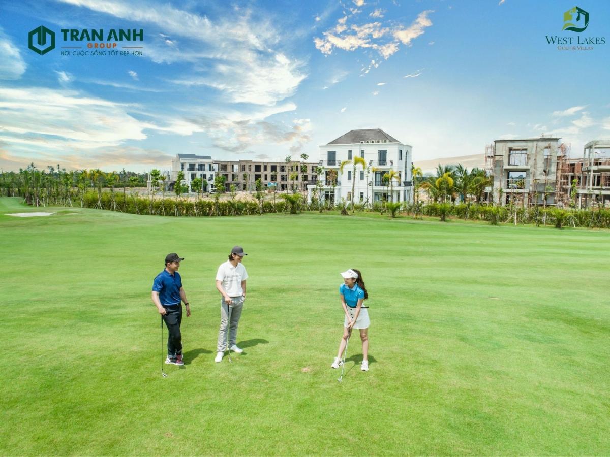 khu nghỉ dưỡng west lakes golf & villas